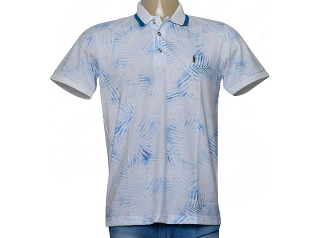 Camisa Masculina Coca-cola Clothing 253201023 Var1 Azul/off White