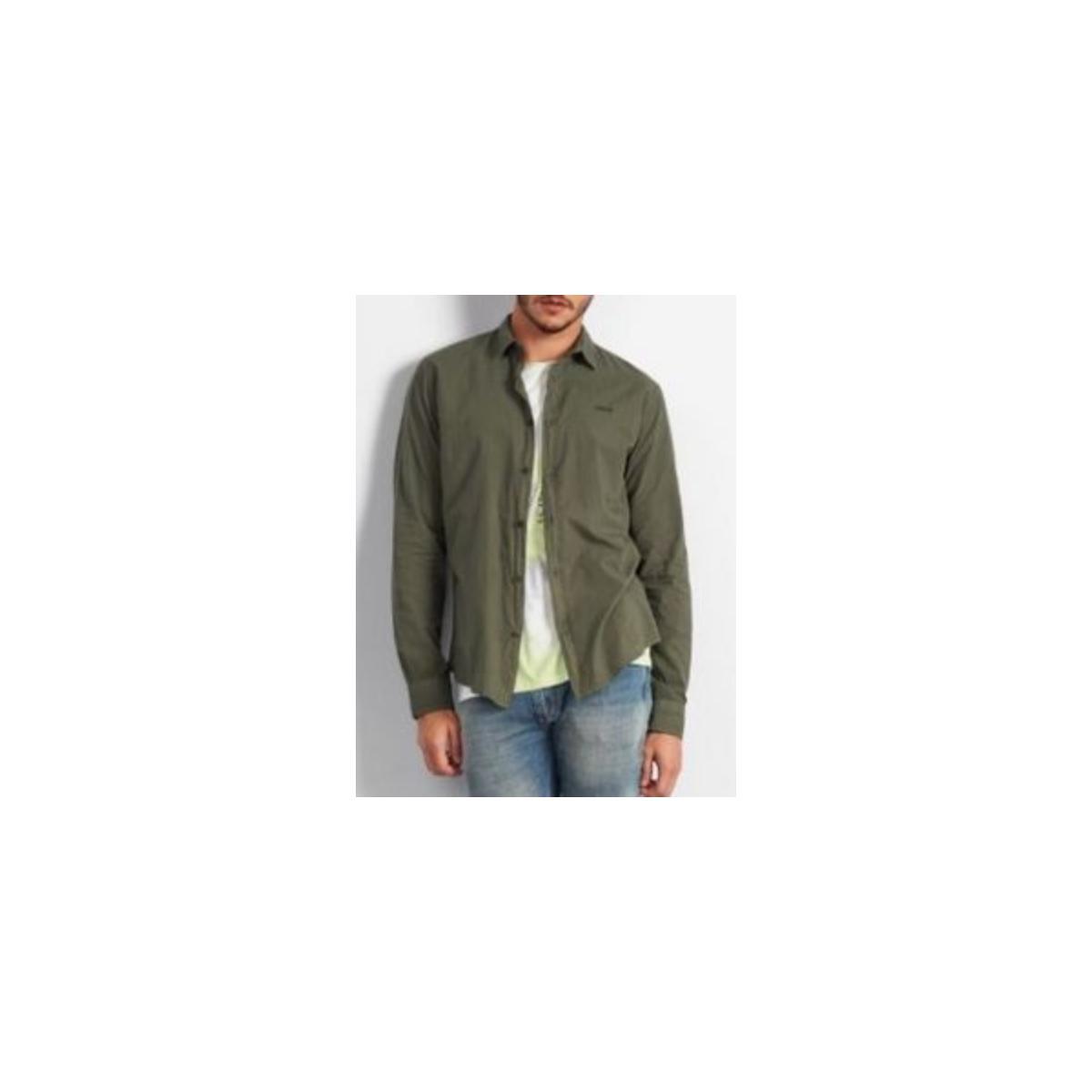 Camisa Masculina Colcci 310103725 39009 Verde
