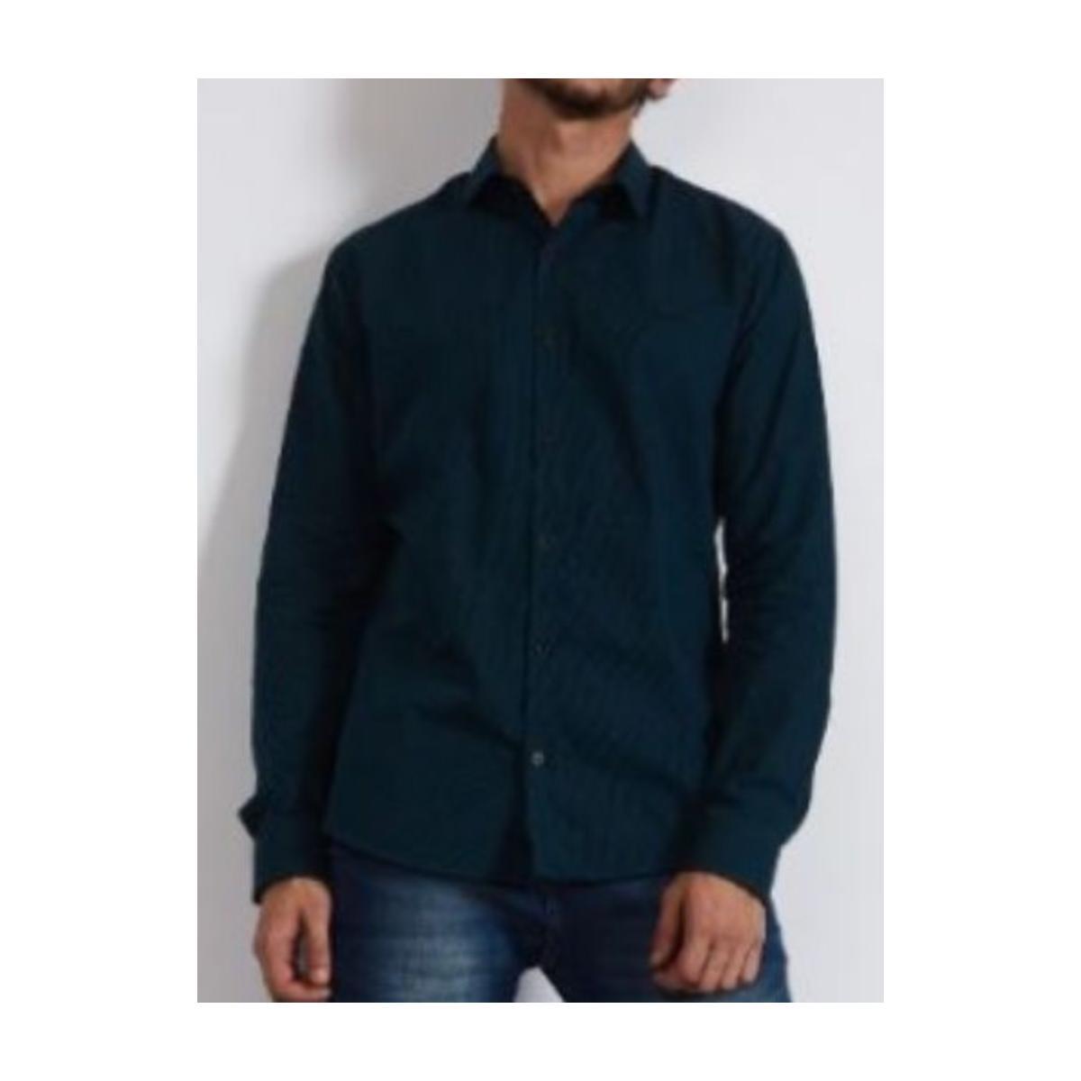 Camisa Masculina Colcci 310103795 Vc72 Verde Escuro