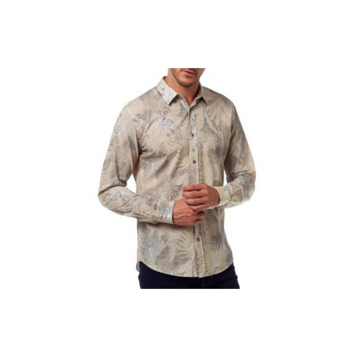 Camisa Masculina Colcci 310103624 Vc16 Estampada