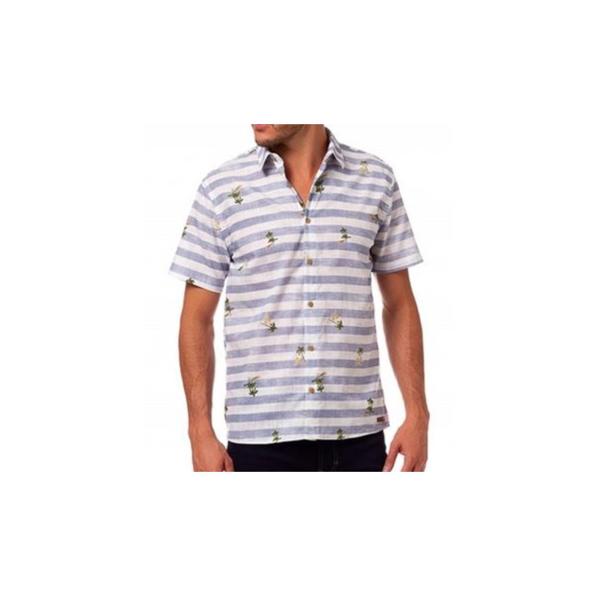 Camisa Masculina Colcci 310103633 Vc34 Listrado