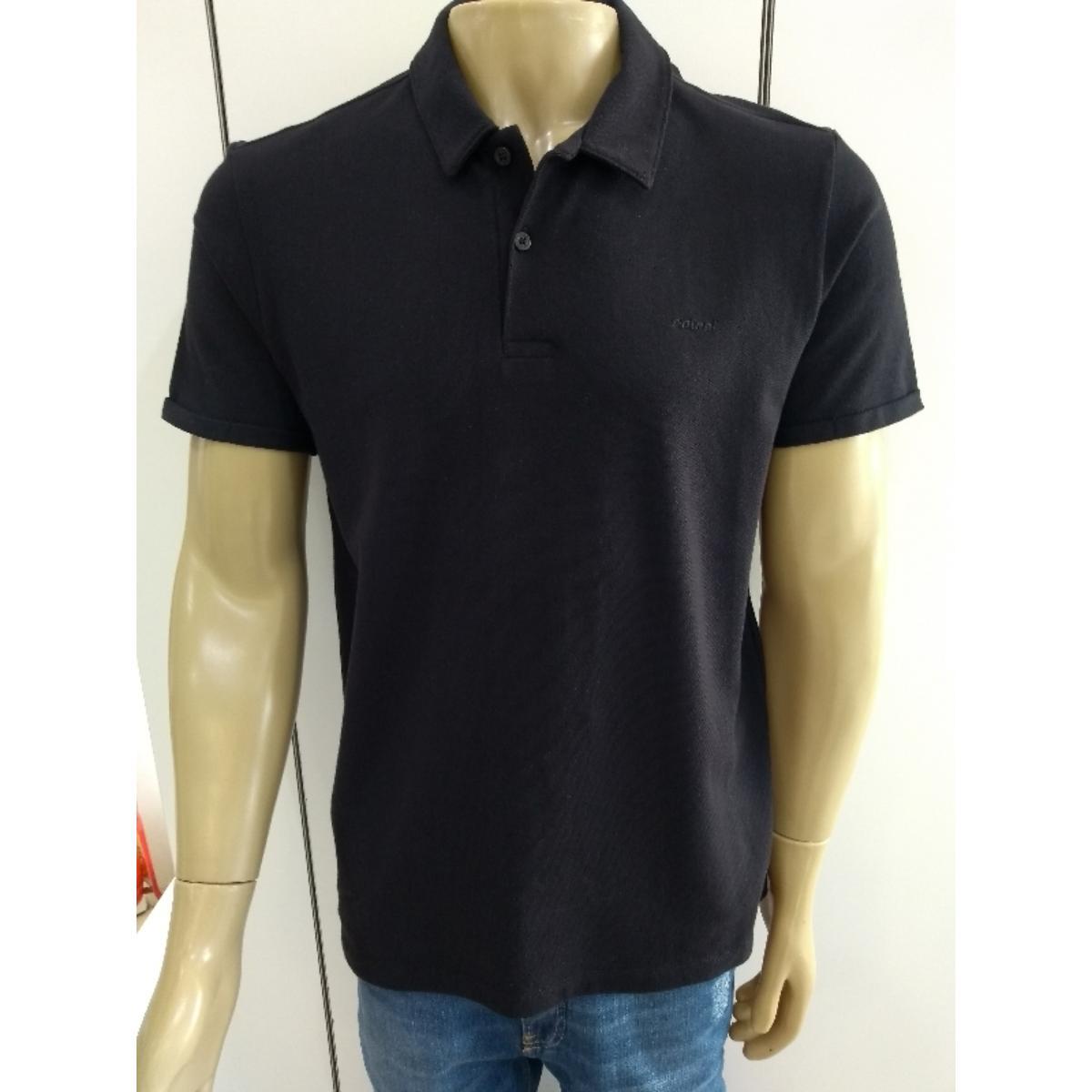 Camisa Masculina Colcci 250102227 050 Preto