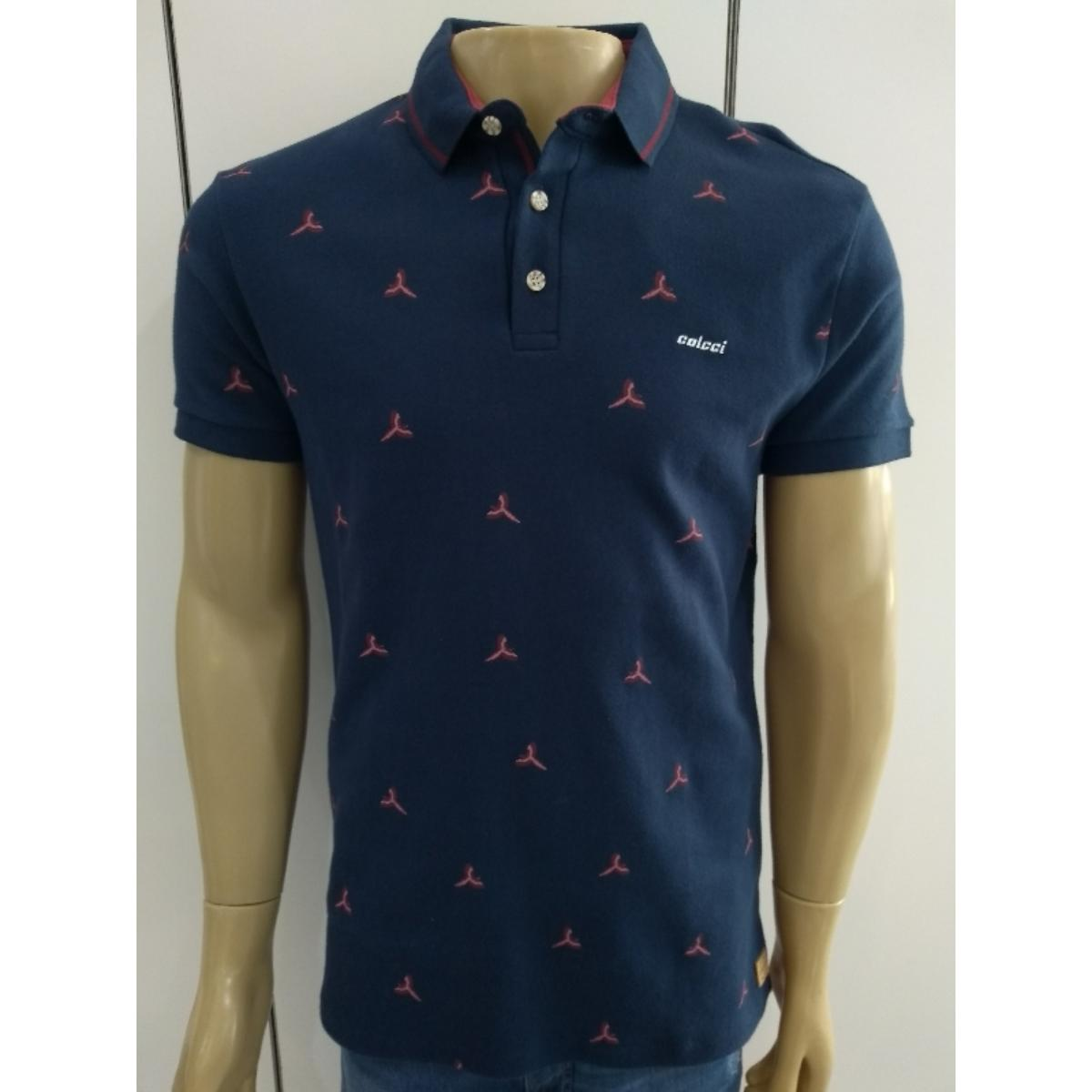 Camisa Masculina Colcci 250102181 33664 Marinho