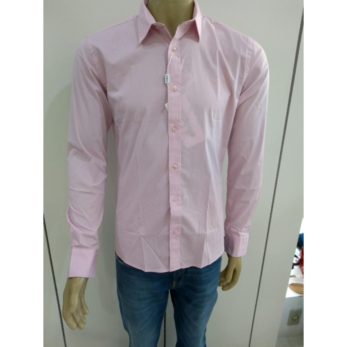 Camisa Masculina Colcci 310103397 44129 Rosa
