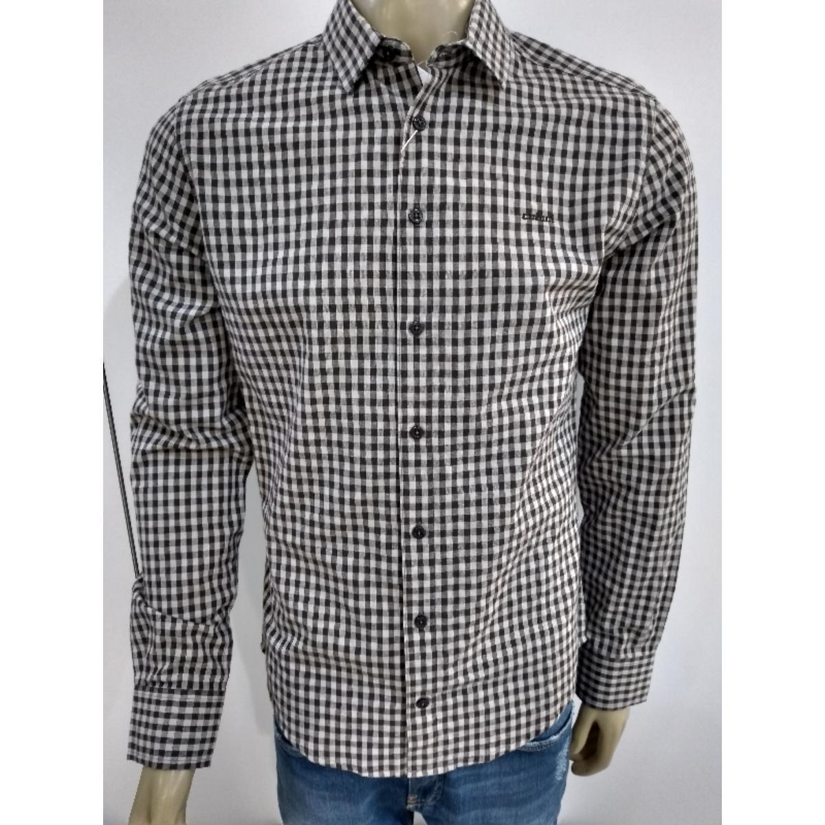 Camisa Masculina Colcci 310103051 Vc10 Xadrez