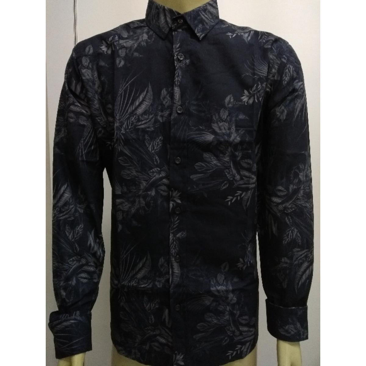 Camisa Masculina Colcci 310103496 Vc64 Preto Floral