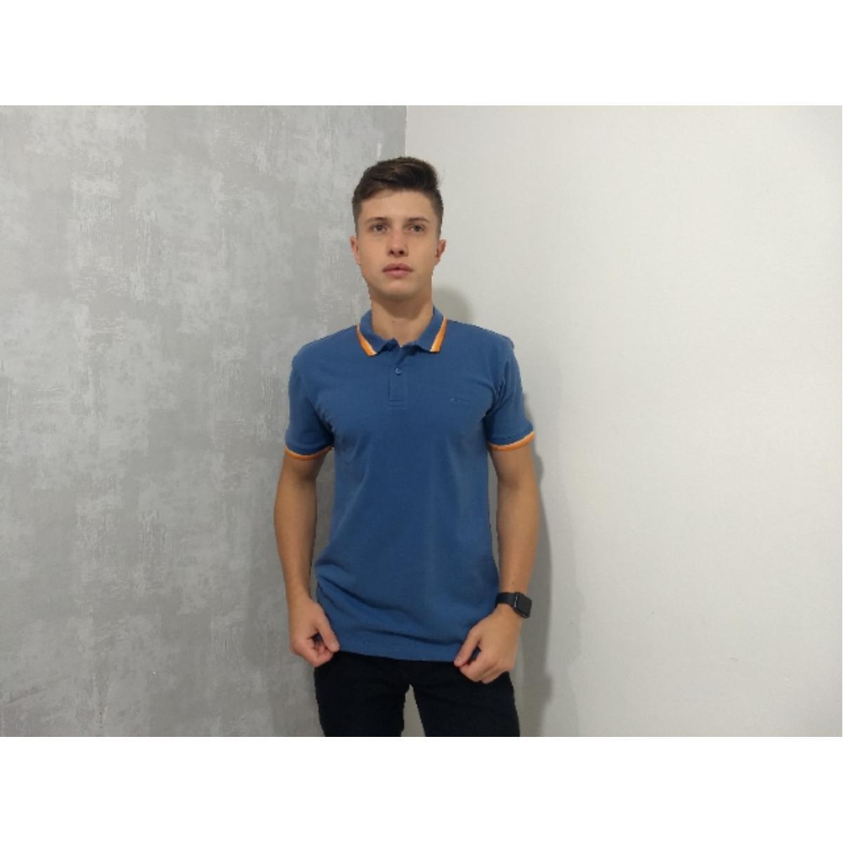 Camisa Masculina Colcci 250102190 33811 Azul