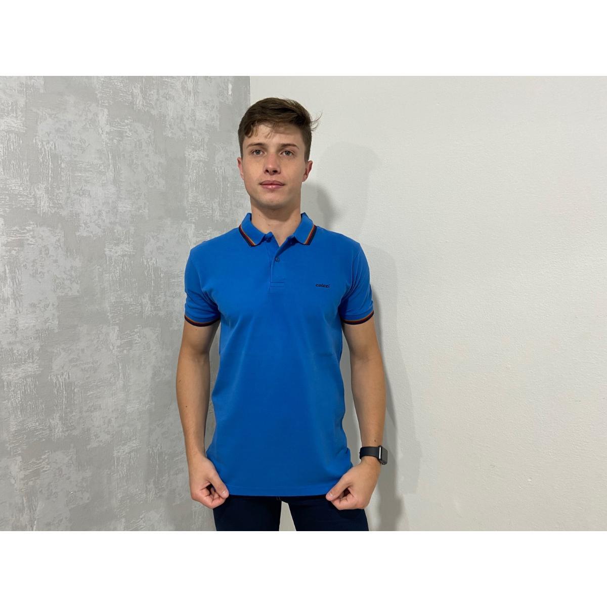 Camisa Masculina Colcci 250102006 33544 Azul
