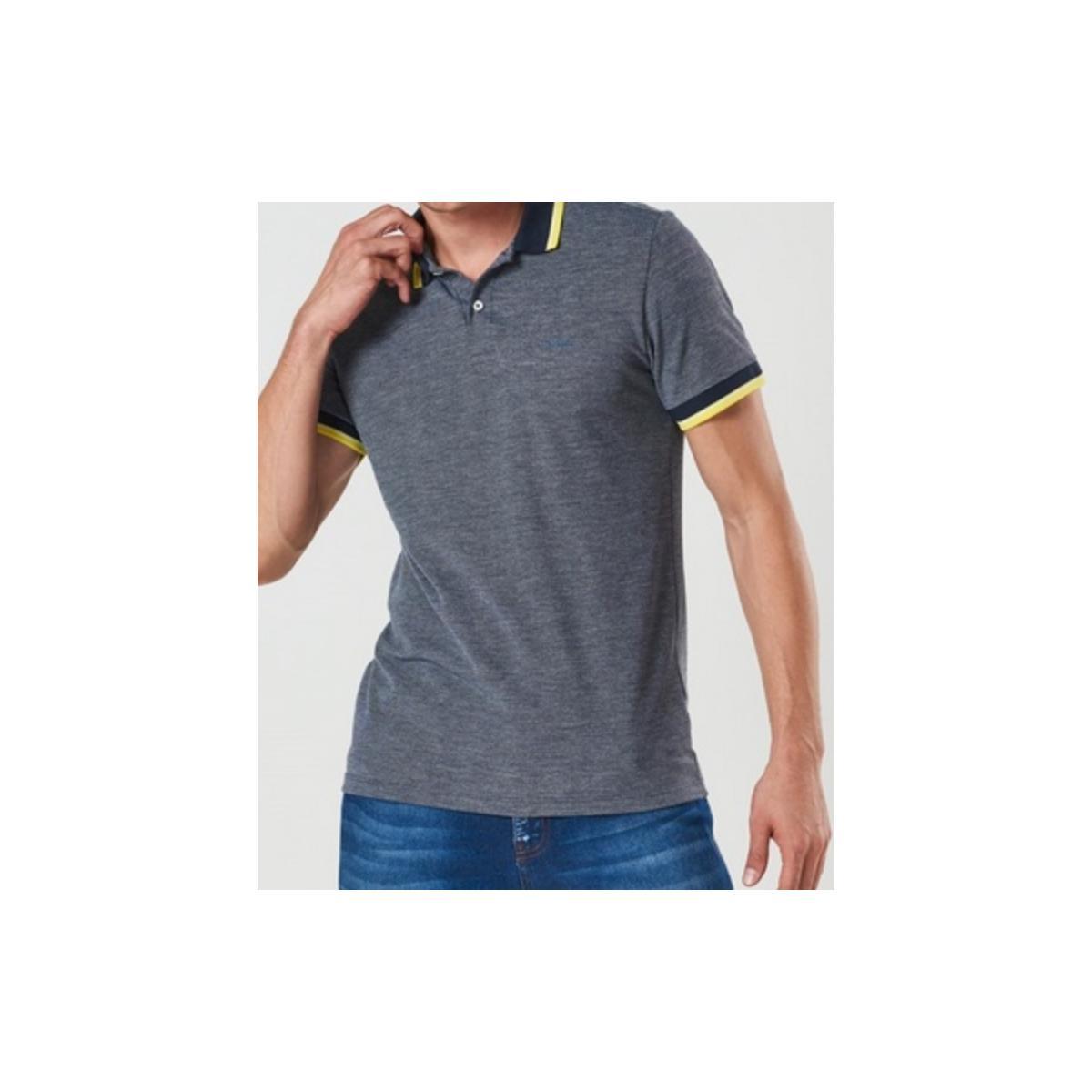 Camisa Masculina Colcci 250102196 33664 Marinho