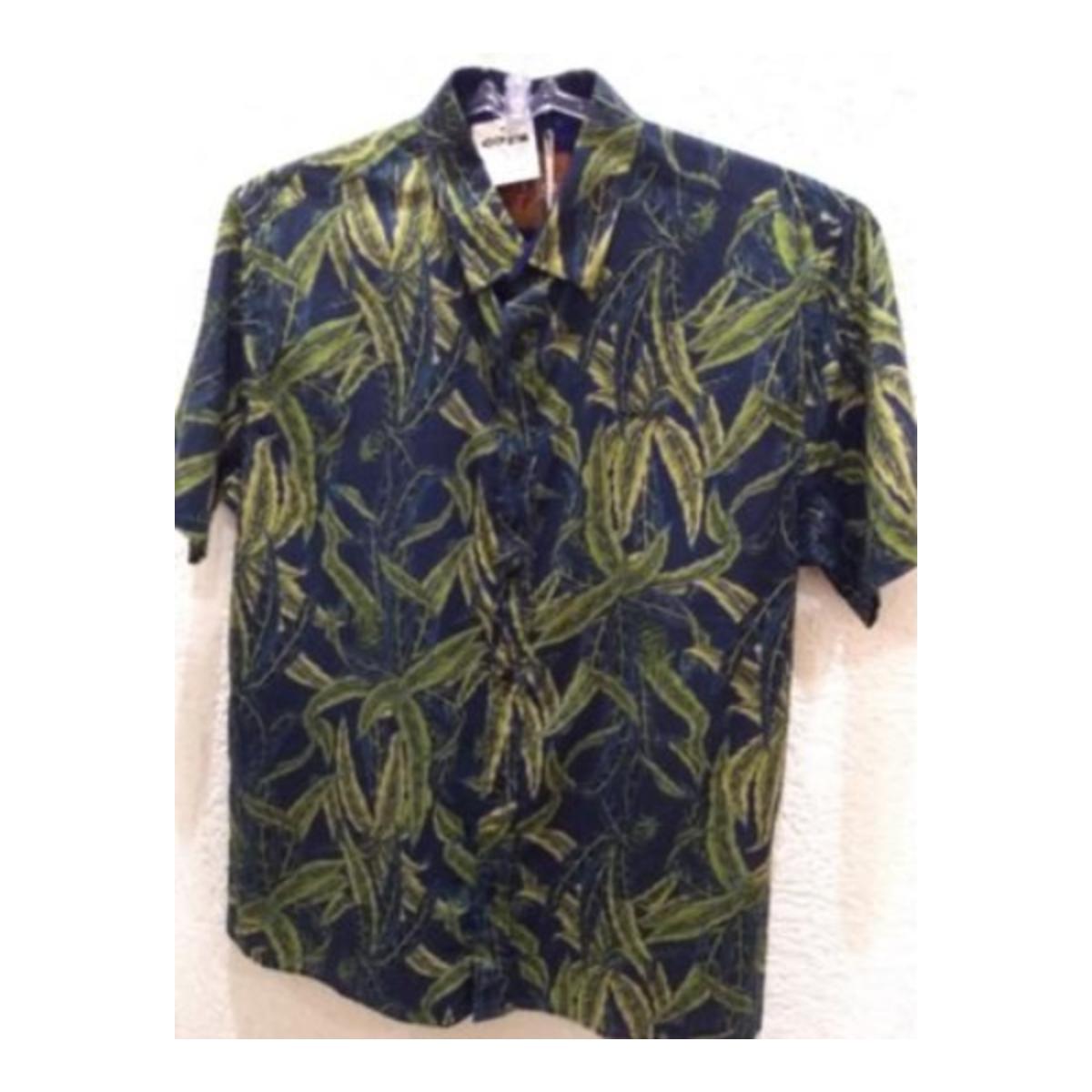 Camisa Masculina Colcci 310103248 Vc62 Marinho/verde