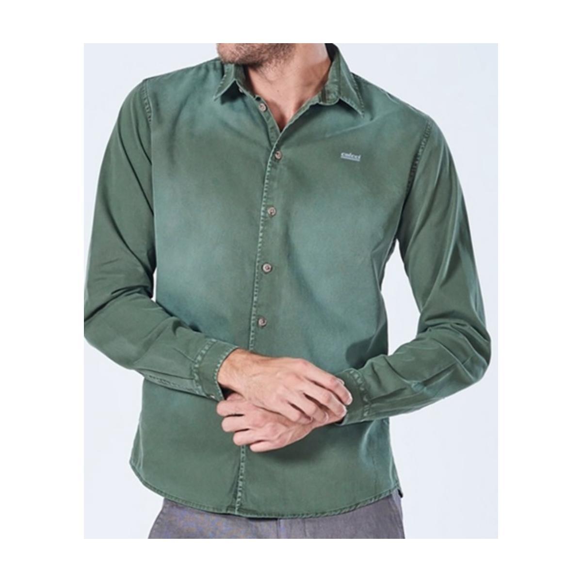 Camisa Masculina Colcci 310103100 38930 Verde