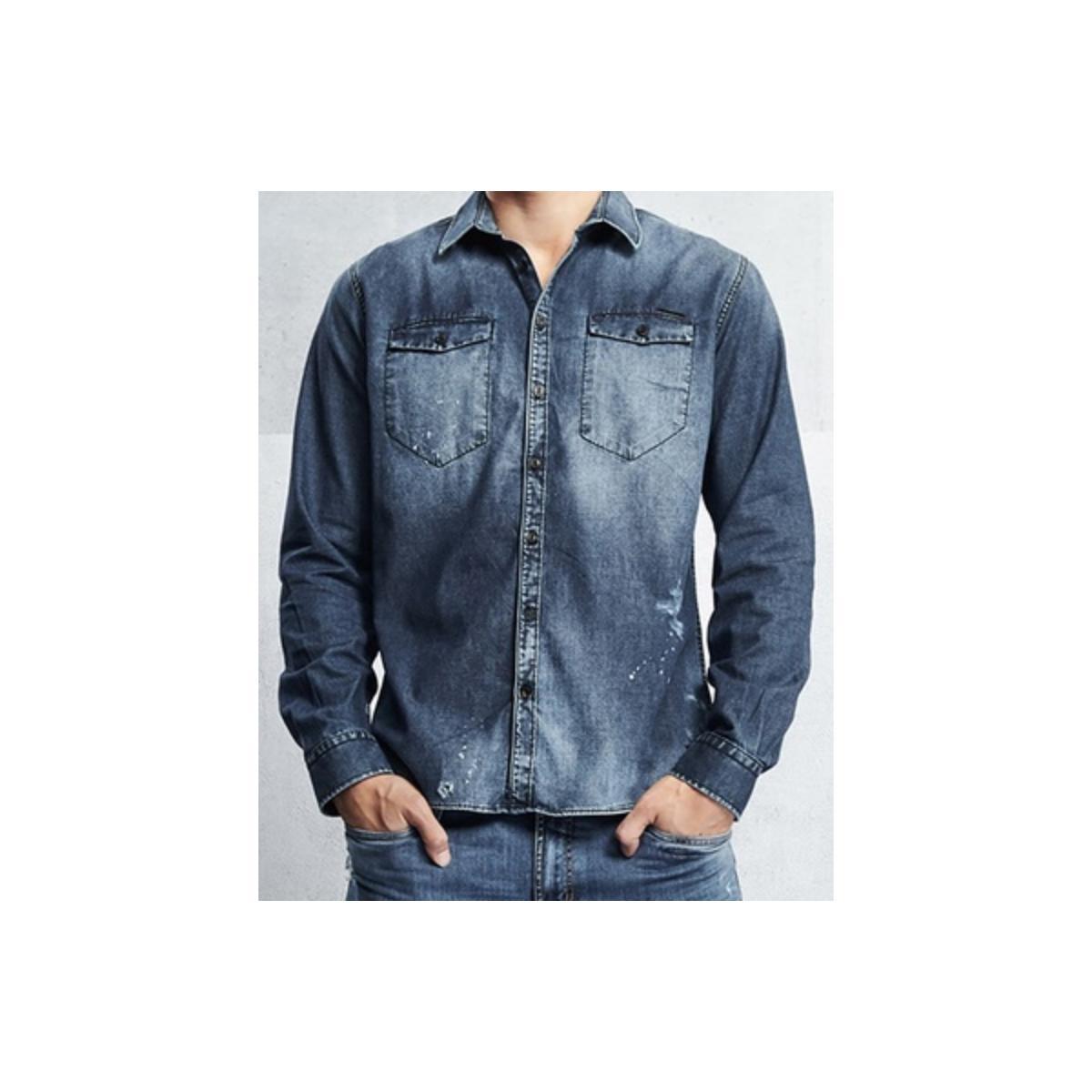 Camisa Masculina Colcci 310103066 Jeans