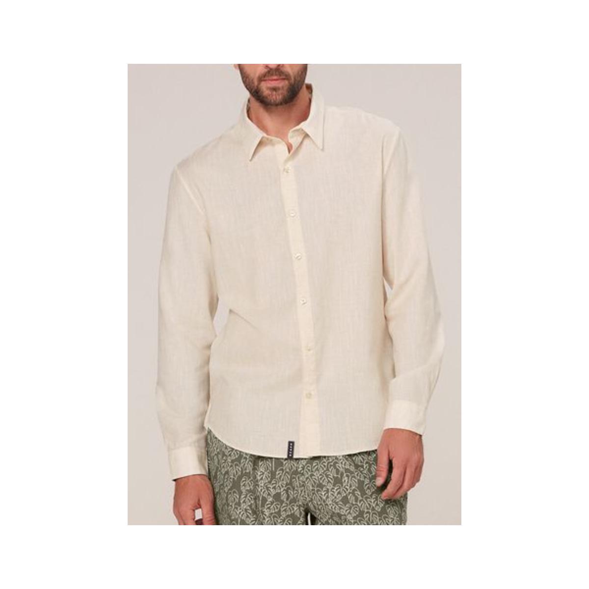 Camisa Masculina Dzarm Zilh 1aen Off White