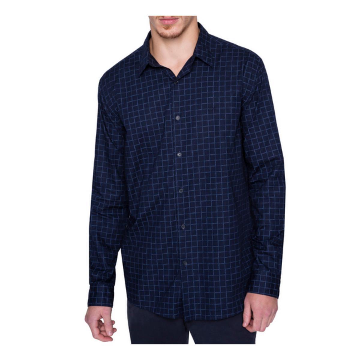 Camisa Masculina Ellus 52b7580 75 Marinho