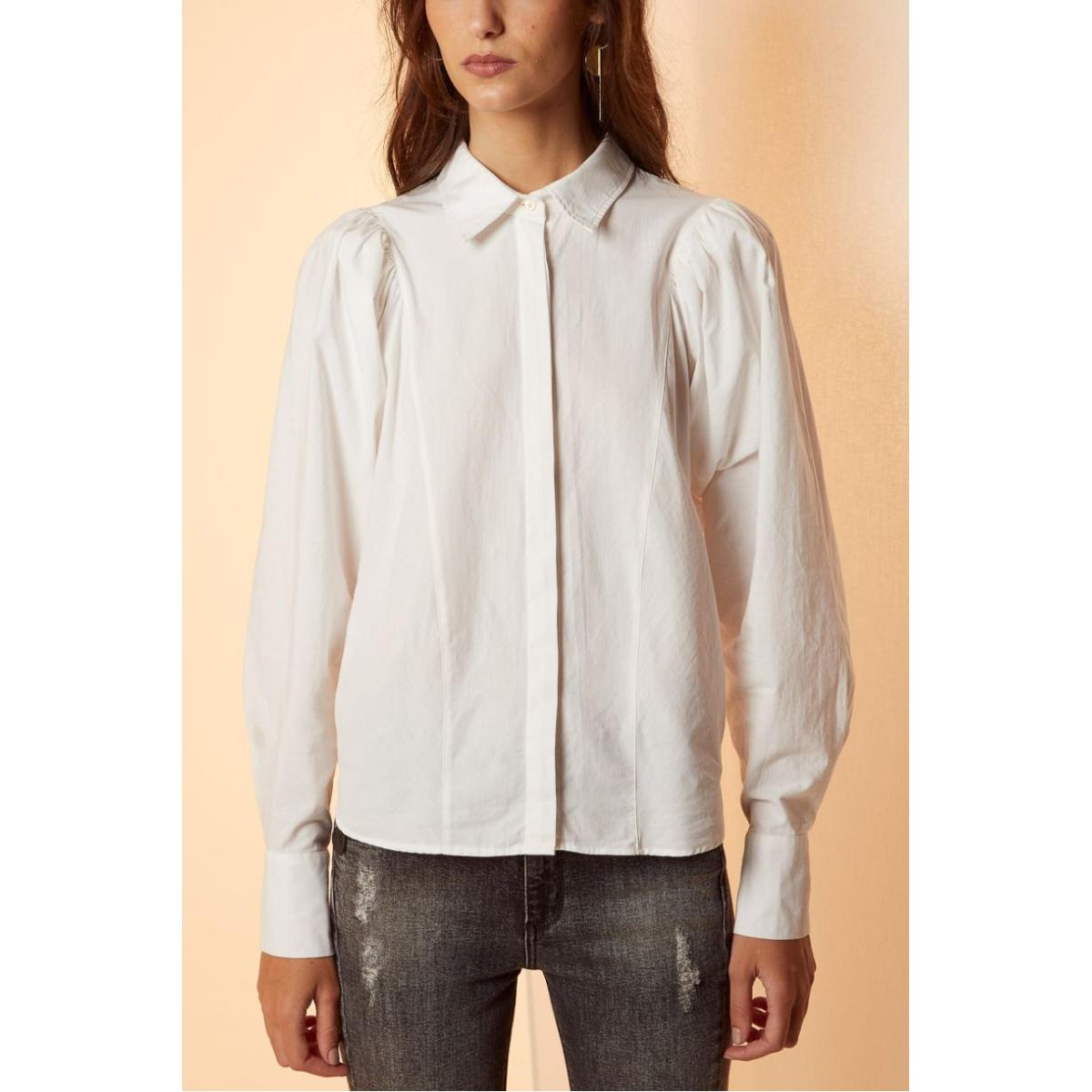 Camisa Feminina Forum 304601398 58529 Off White