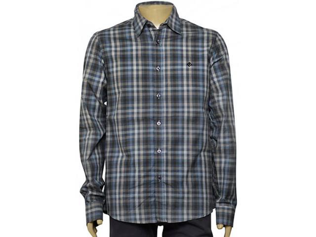 Camisa Masculina Forum 314600910 Verde Musgo