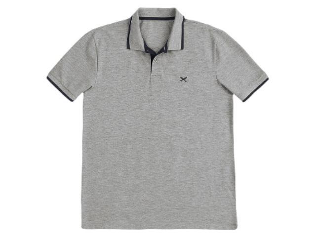 Camisa Masculina Hering 036h 3ten Mescla/preto