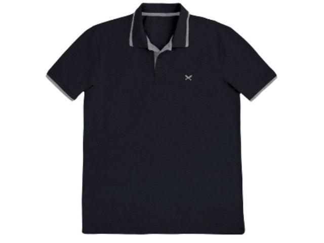 Camisa Masculina Hering 036h 3ren Preto/cinza