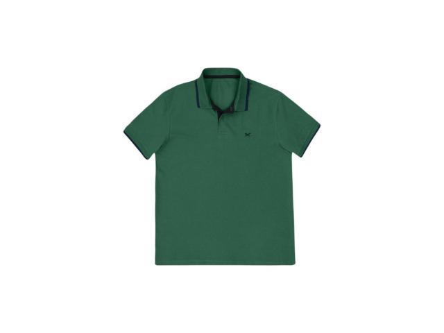 Camisa Masculina Hering 036h 4cen Verde