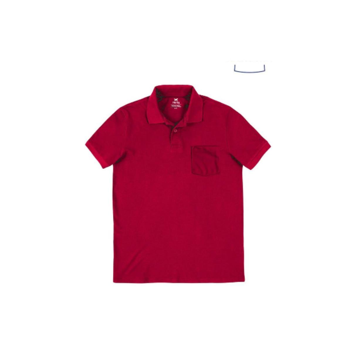 Camisa Masculina Hering 3m2a Rpyen Vermelho