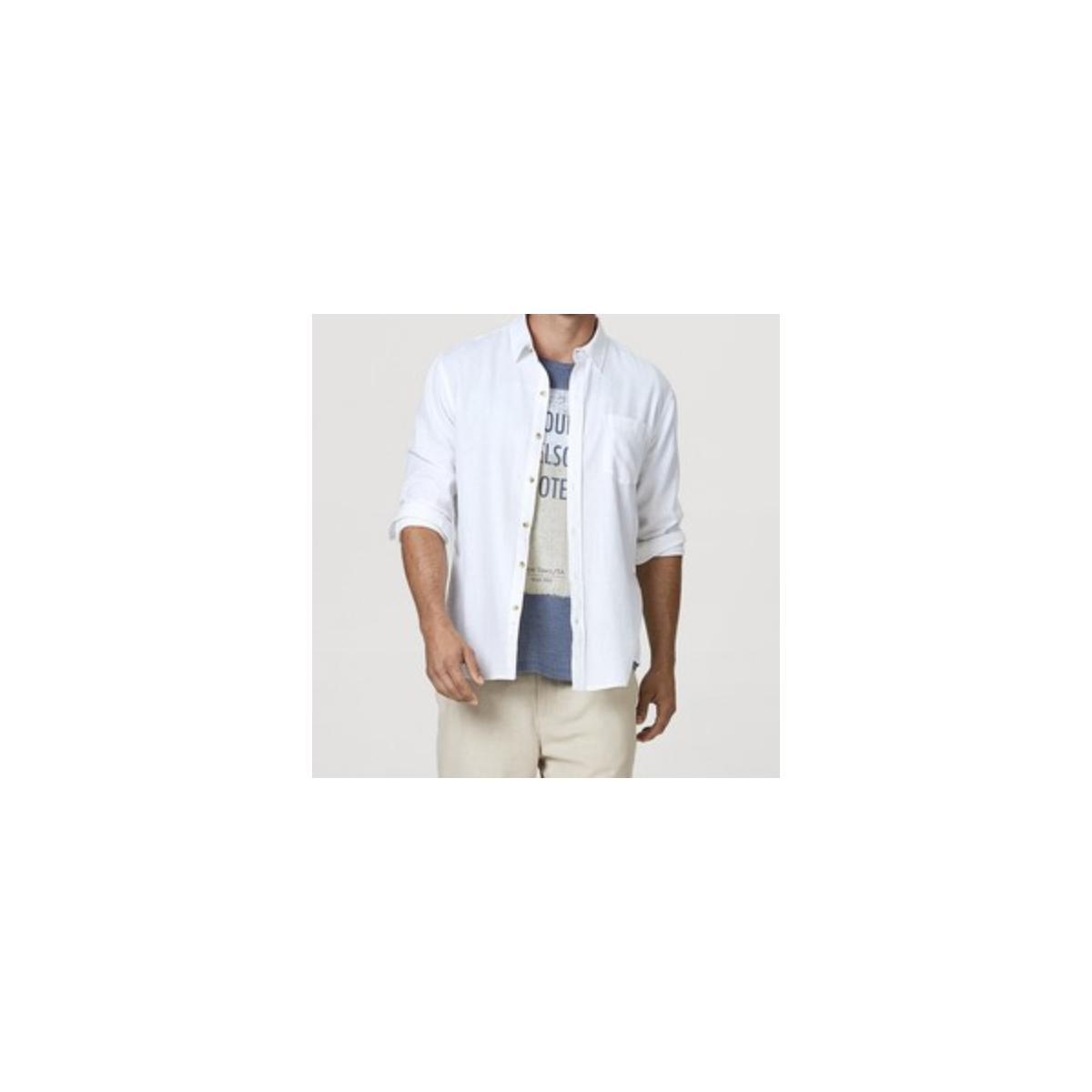 Camisa Masculina Hering K48f N0asi Off White