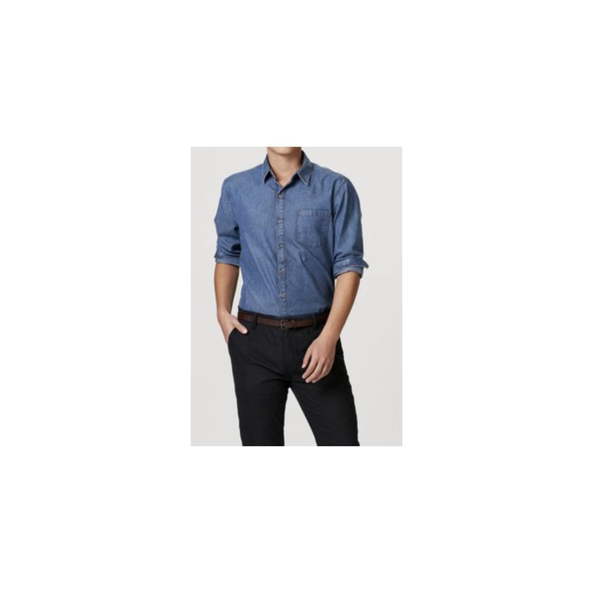 Camisa Masculina Hering H2ja 1bej Jeans