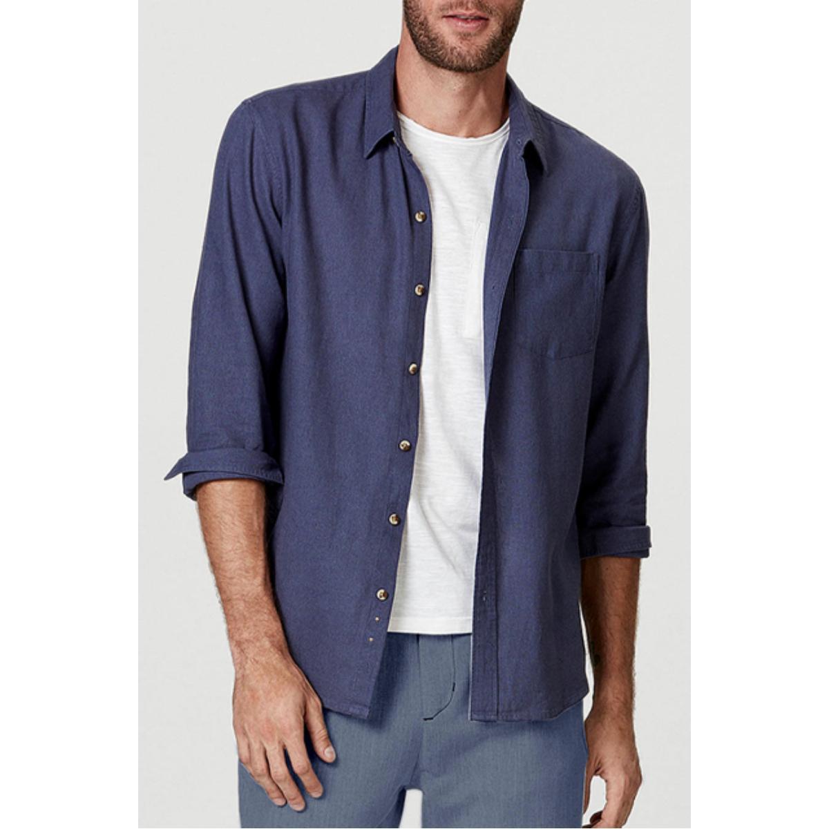 Camisa Masculina Hering K48f 1csi Jeans