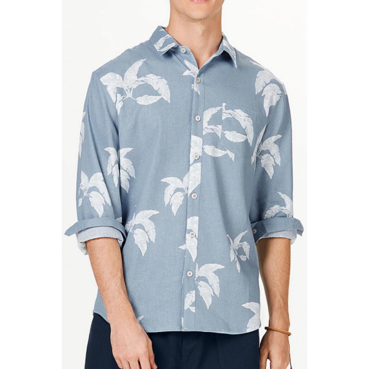 Camisa Masculina Hering Ktz4 1dsi Azul