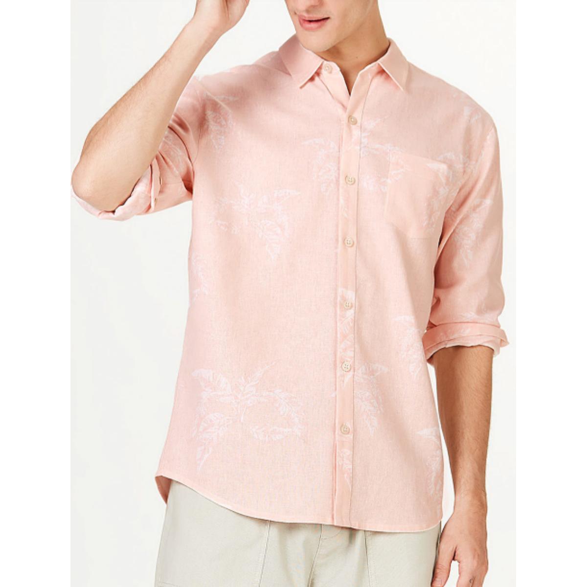 Camisa Masculina Hering Ktz4 1bsi Rosa