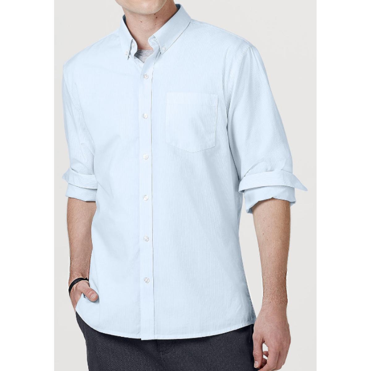 Camisa Masculina Hering K47b 1asi Azul Claro