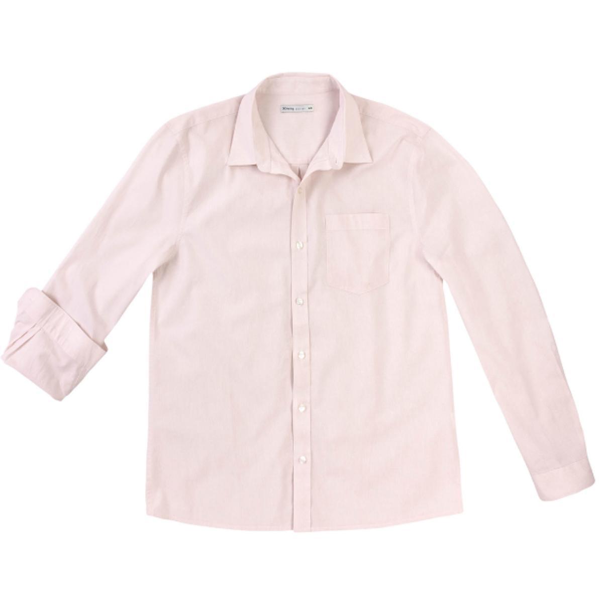 Camisa Masculina Hering K47b 1bsi Rosa Claro