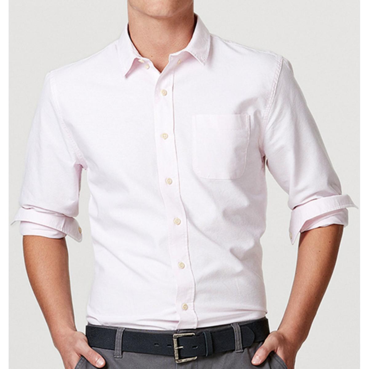Camisa Masculina Hering K48w 1bsi Rosa Claro