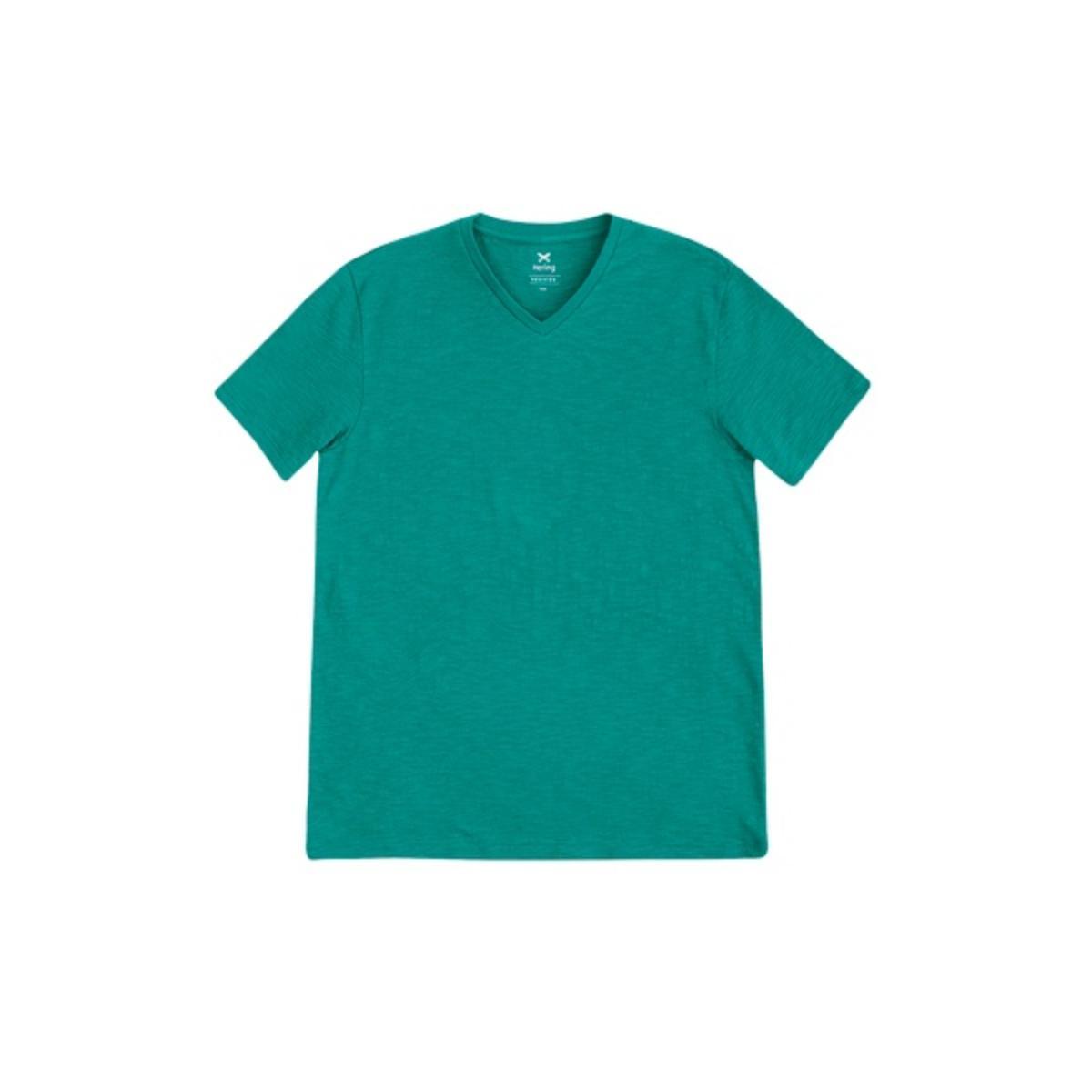 Camisa Masculina Hering N3a7 W9ben Verde