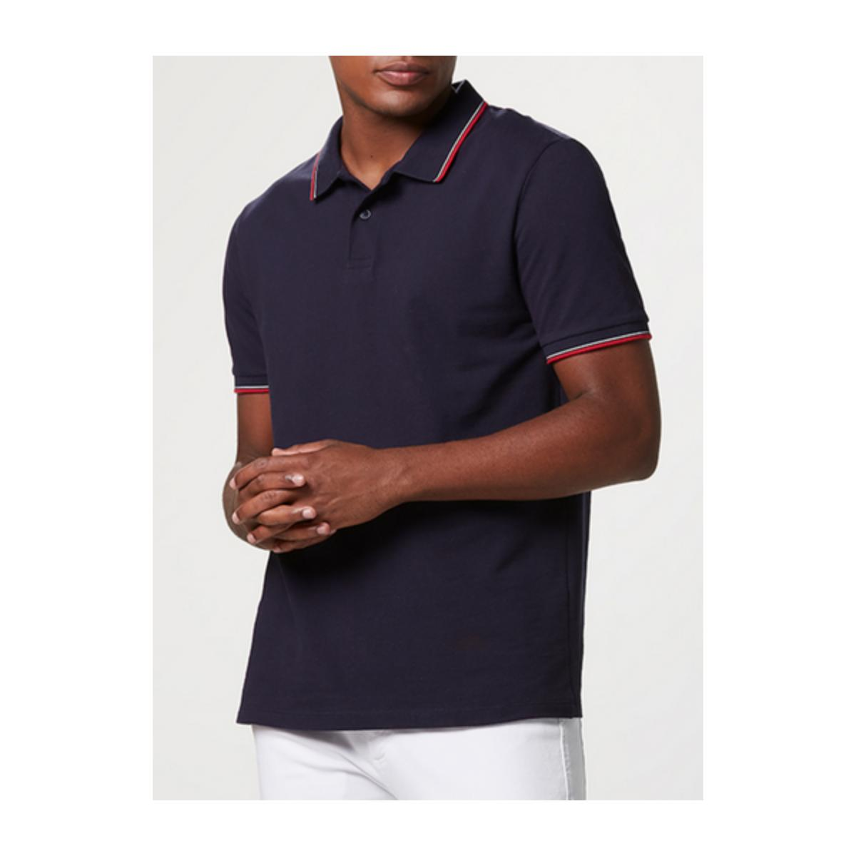 Camisa Masculina Hering 3m11 Ax7en Marinho