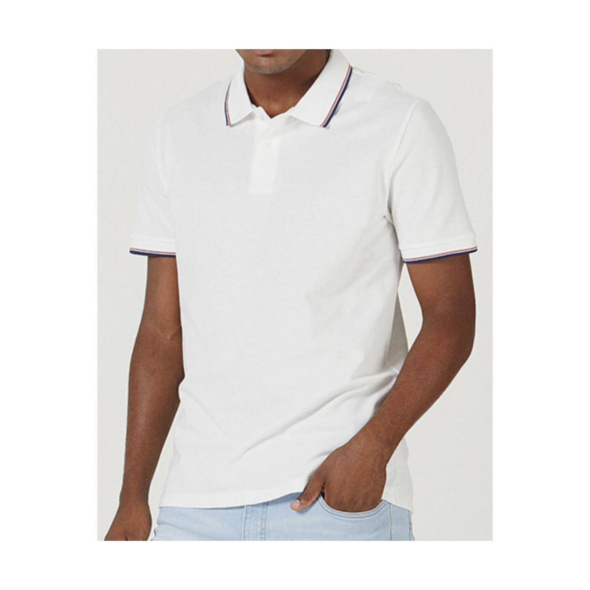 Camisa Masculina Hering 3m11 Nmcen Off White