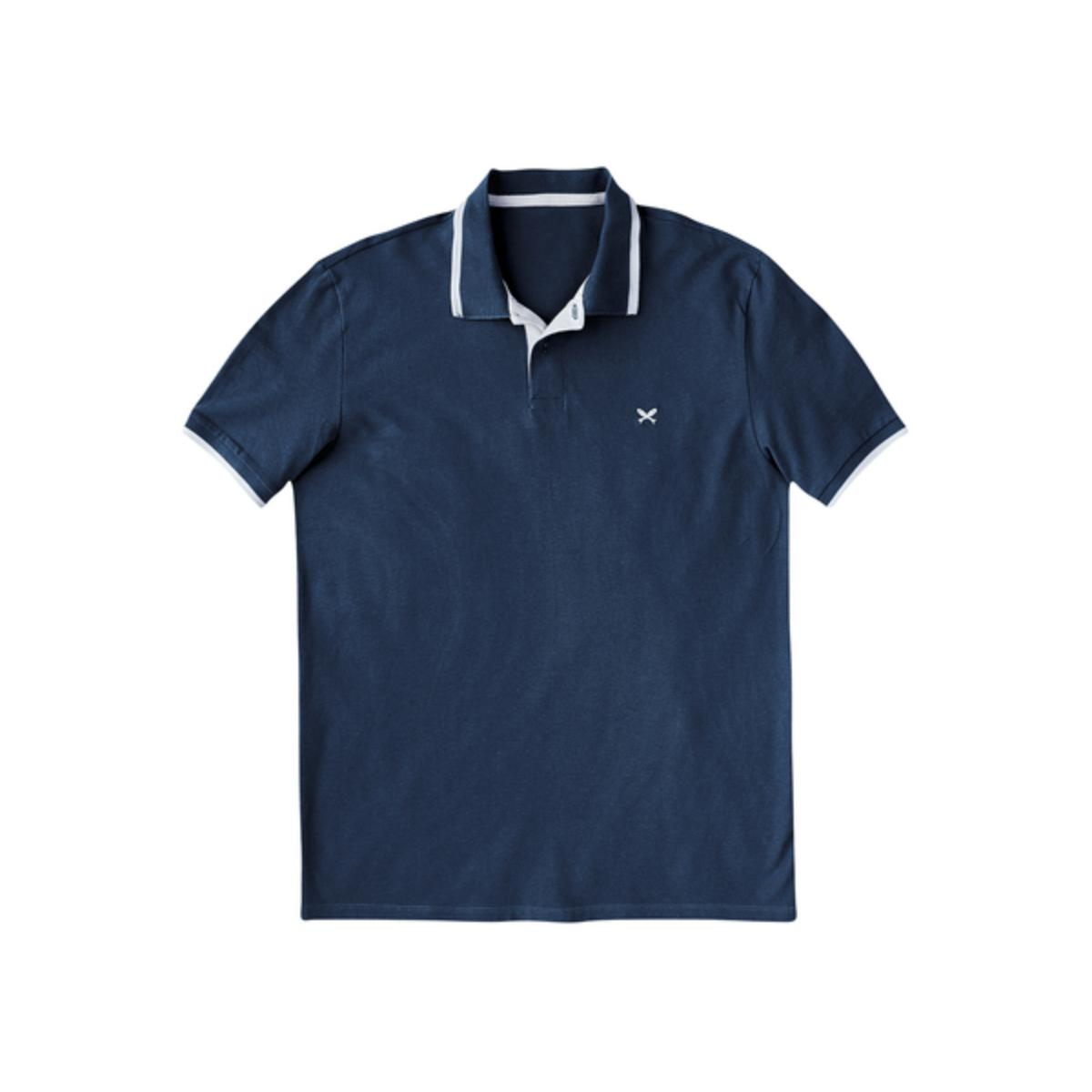 Camisa Masculina Hering 036h 4pen Petróleo/preto
