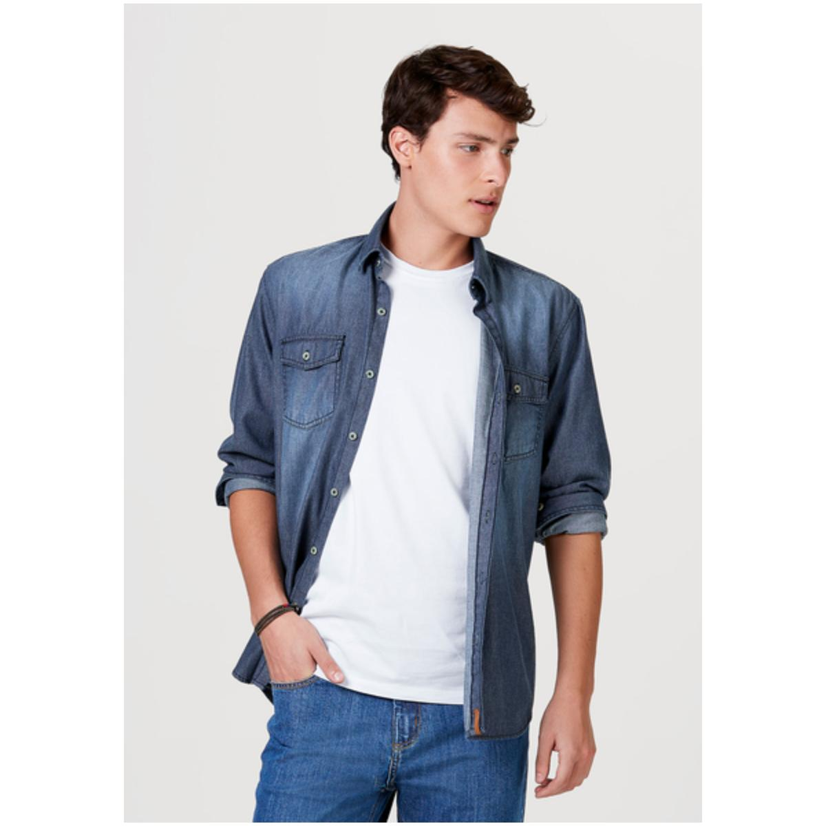 Camisa Masculina Hering H2hc Pdiej Jeans