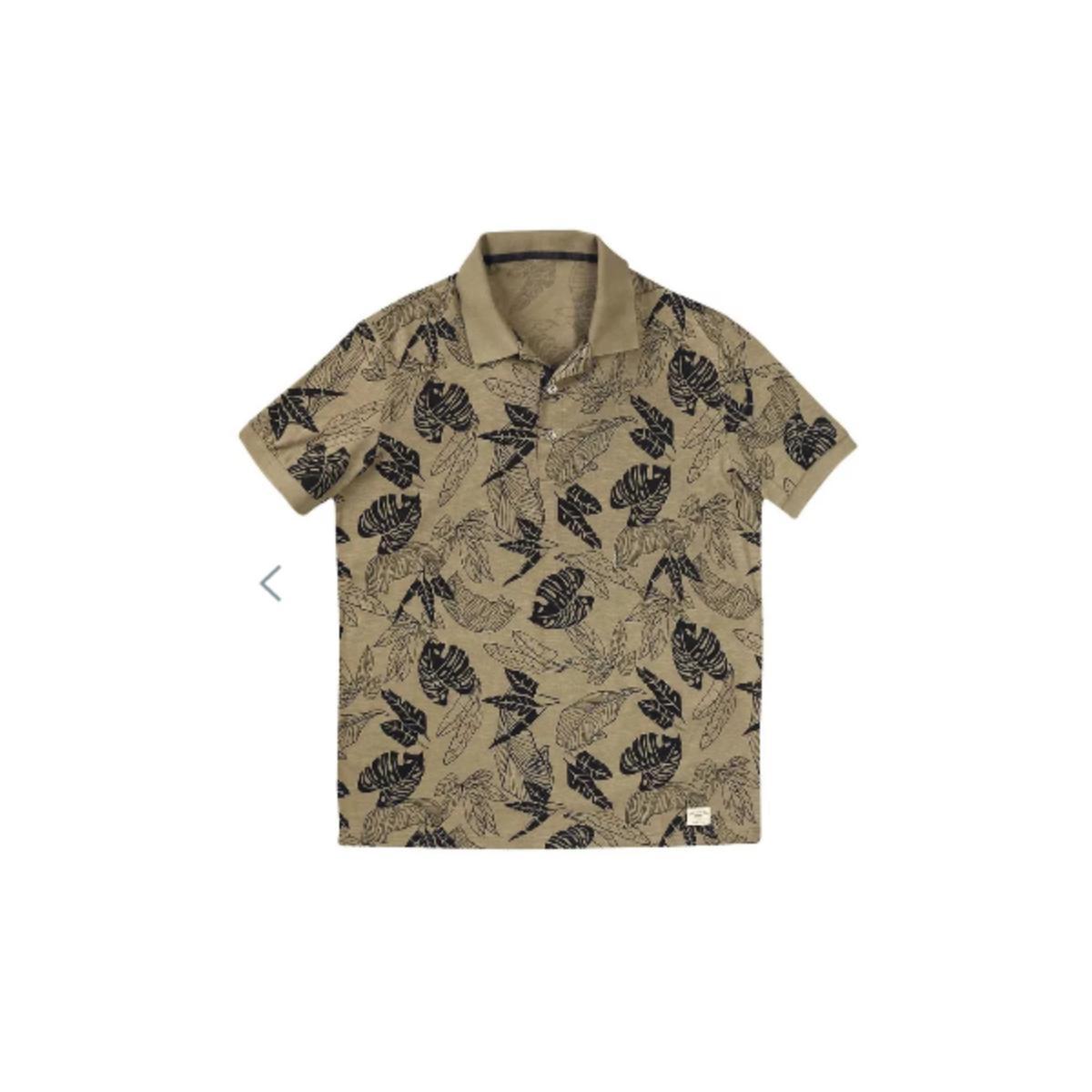 Camisa Masculina Hering 3m3n 1hen Areia/preto