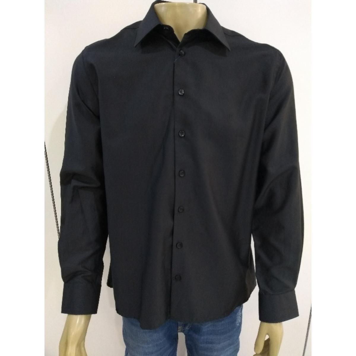 Camisa Masculina Individual 53.01.0312 02 Preto