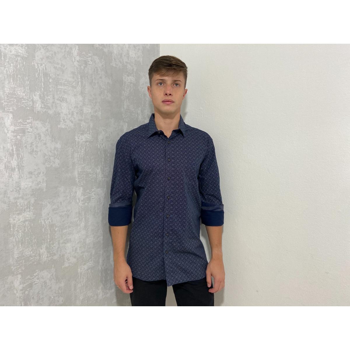 Camisa Masculina Individual 53.02.0558 94 Estampado