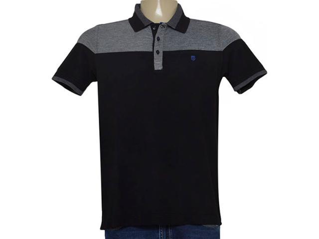 Camisa Masculina Individual 306.22222.272 Preto/grafite