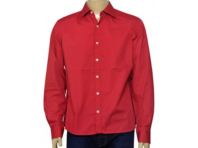 Camisa Masculina Individual 302.00266.044 Vermelho