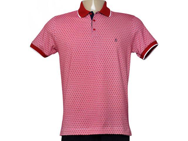 Camisa Masculina Individual 306.22222.252 Vermelho