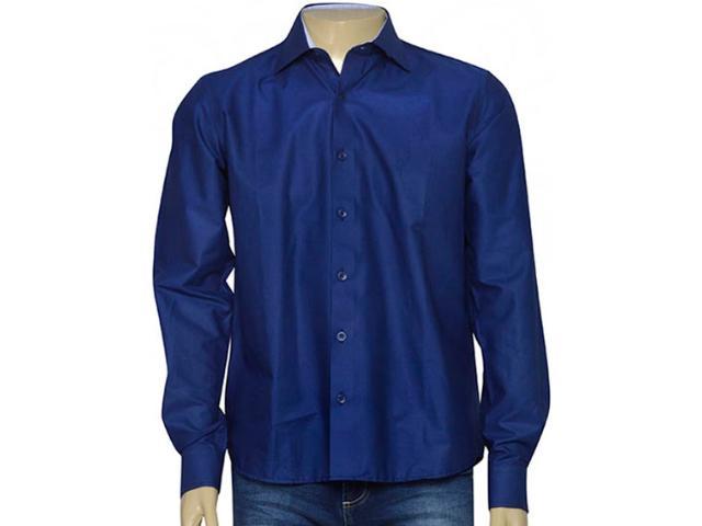 Camisa Masculina Individual 302.03846.012 Azul Escuro