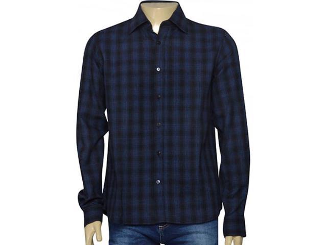 Camisa Masculina Individual 302.44973.001 Marinho/preto