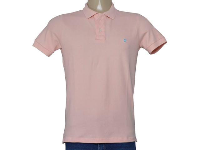 Camisa Masculina King & Joe Po09001 Rosa Claro