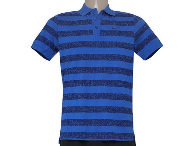 Camisa Masculina Nike 643127-480 Matchup Azul/preto
