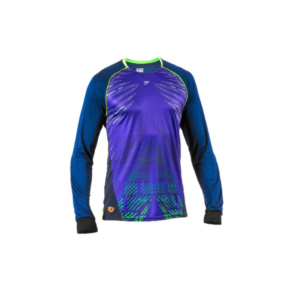 Camisa Masculina Poker 04105 Preto/marinho/limão
