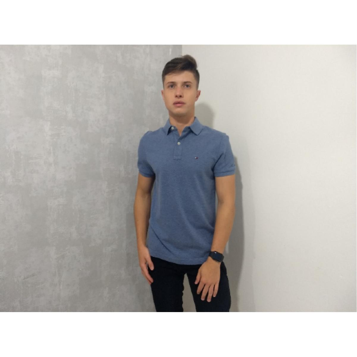 Camisa Masculina Tommy Th7803120 264 Jeans