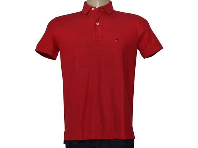 Camisa Masculina Tommy Th0857889198 Vermelho
